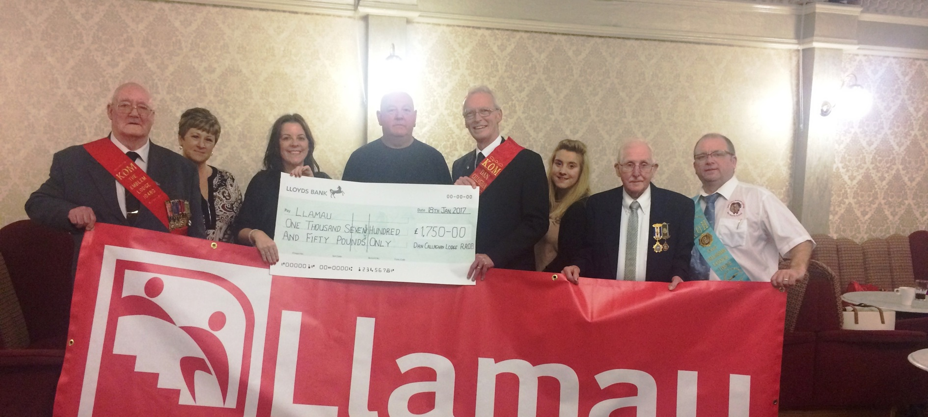 Local Fundraising Makes the Difference for Llamau